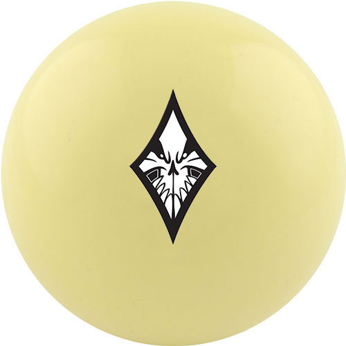 Custom Cue Ball - Diamond Suit
