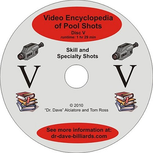 Video Encyclopedia of Pool Shots - Skill and Specialty Shots - Disc 5