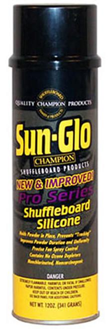 Sun Glo Shuffleboard Silicone Spray Pro Series - 12oz