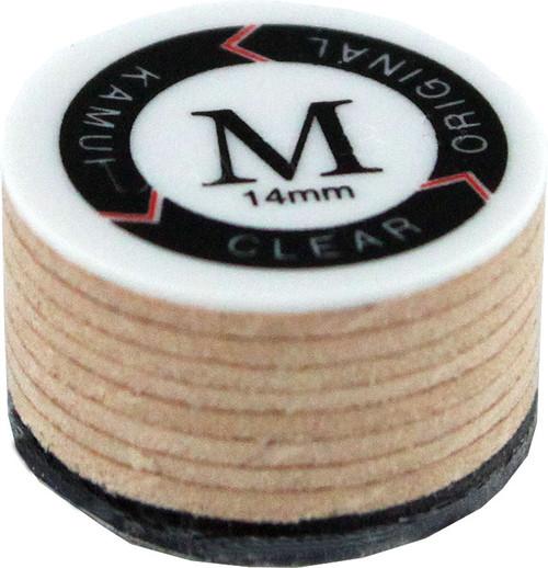 Kamui II Clear Laminated Leather Tips- Medium