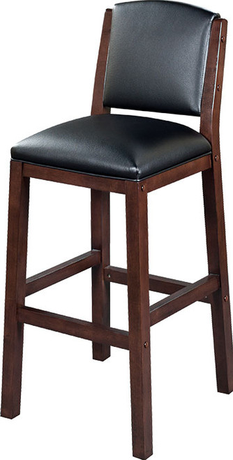 """Heritage Collection 30"""" Backed Barstool - Black Cherry"""