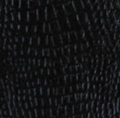 Black Leather Wrap - Gator