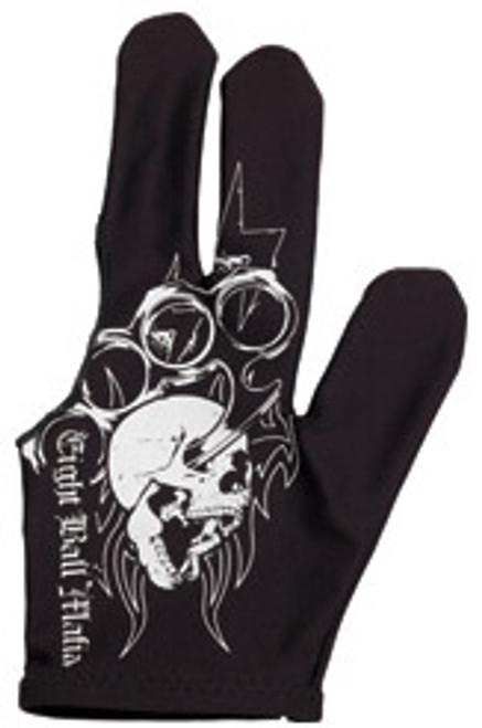 Action Billiard Glove - Eight Ball Mafia Glove