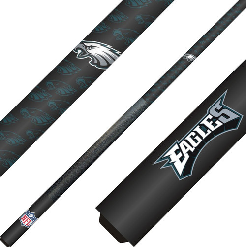 Philadelphia Eagles Cue and Case Set