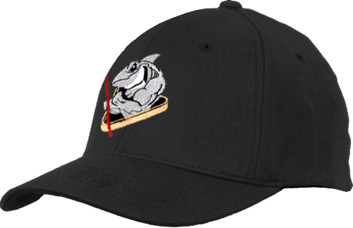 Ozone Billiards Pool Shark Hat - Black - Free Personalization