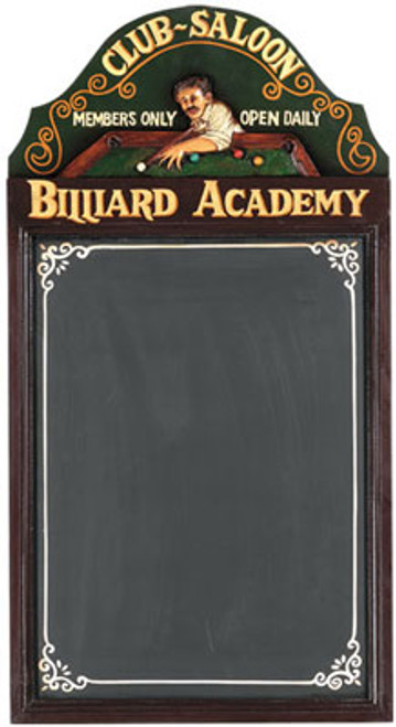 Billiard Academy 3D Sign
