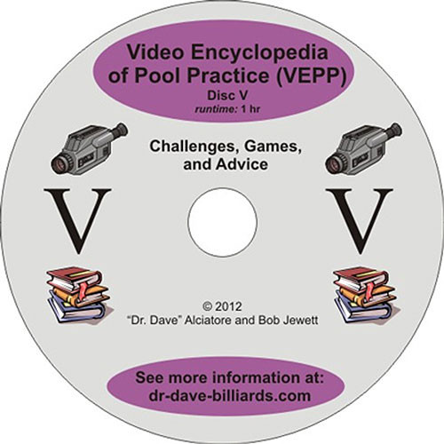 Video Encyclopedia of Pool Practice - Challenges and Games and Advice - DVD 5