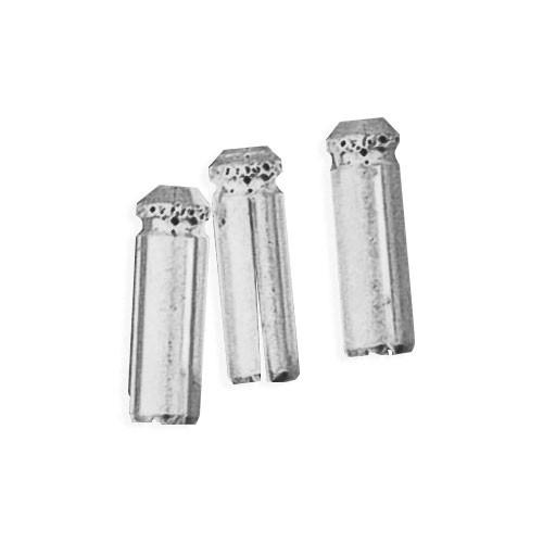 Aluminum Deflectors - Silver - Set of 3