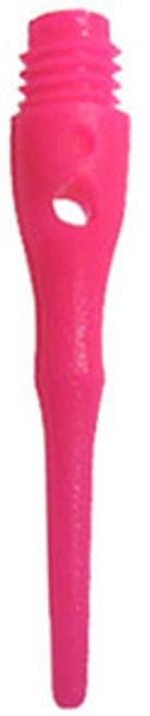 2BA Dart Soft Tips: 2BA Tufflex Tips III Neon Pink 100 Ct.
