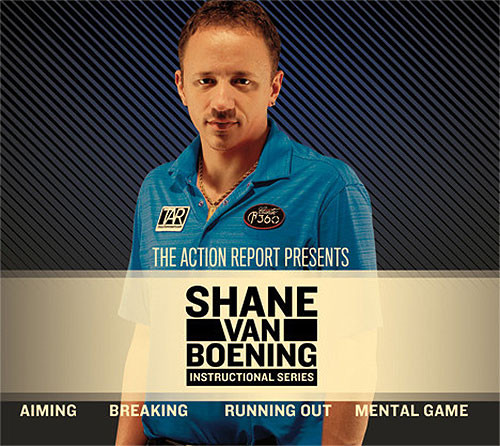 Shane Van Boening Instructional Billiards DVD