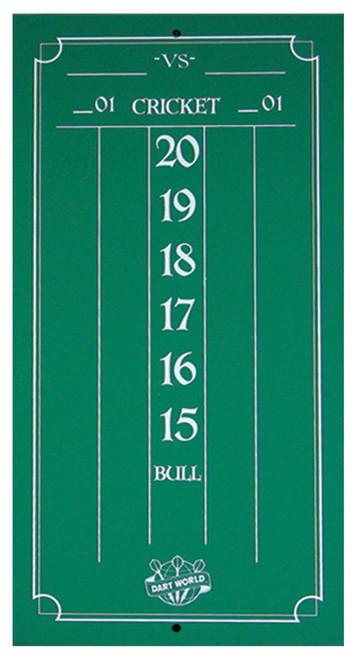 Cricketeer Mini Chalk Scoreboard - Green