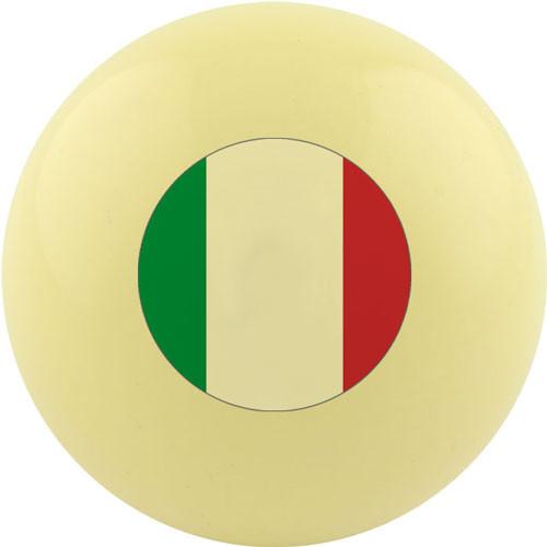 Custom Cue Ball - Italy Flag