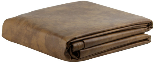 Ozone Saddle Leatherette Pool Table Cover - 7 Foot