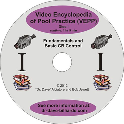 Video Encyclopedia of Pool Practice - Fundamentals and Basic Ball Control - DVD1