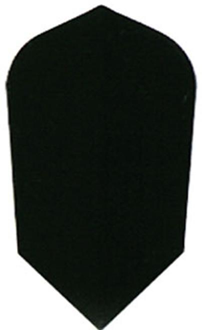 Nylon 160 Micron Thick Slim Flights - Black