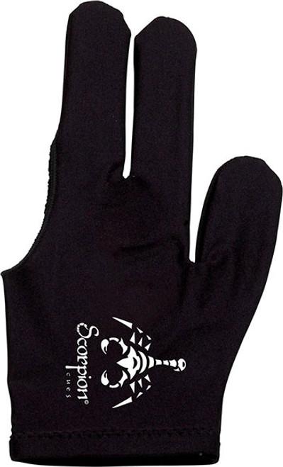 Scorpion Billiard Glove - Black