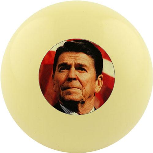 Custom Cue Ball - Ronald Reagan