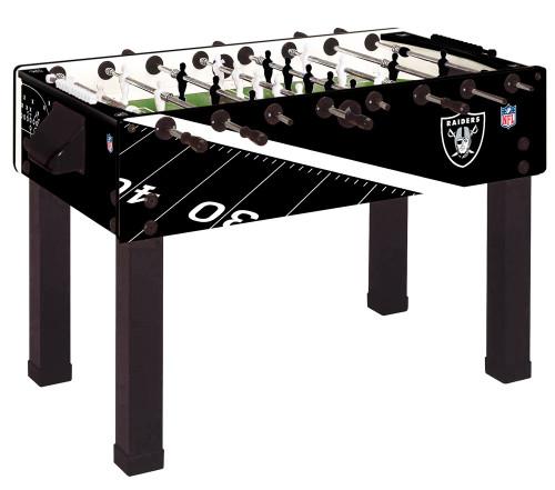Perfect Garlando Foosball Table Oakland Raiders