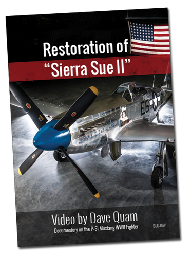 DVD - Restoration of Sierra Sue II - Documenatary