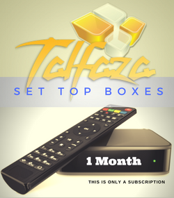 TALFAZA for SET TOP BOXES  (1 Month Subscription)