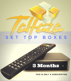 TALFAZA for SET TOP BOX (3 Months Subscription)