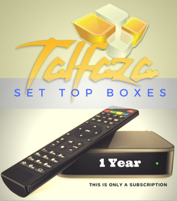 TALFAZA for SET TOP BOXES (1 Year Subscription)