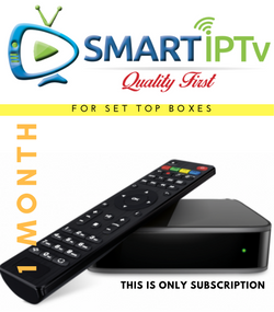 SMARTIPTV  For MAG (1 Months Subscription)