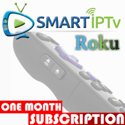 SMARTIPTV  For Roku (1 Months Subscription)