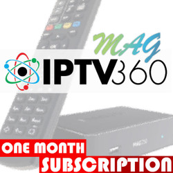 IPTV360 1 Month Subscription