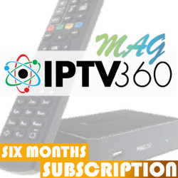 IPTV360 6 Month Subscription