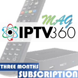 IPTV360 3 Month Subscription