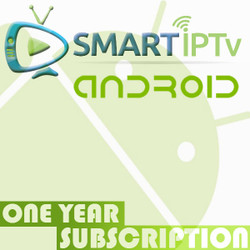 SMARTIPTV  For Android (1 Year Subscription)