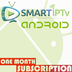 SMARTIPTV  For Android (1 Months Subscription)
