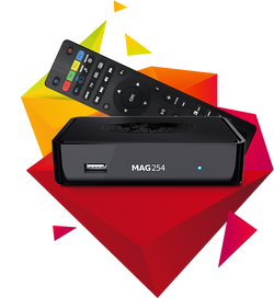MAG254w2 IPTV Box (No Subscription Included) wireless included 5Ghz