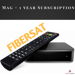 1 Year Fibersat subscription + Mag Device
