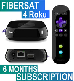 FIBERSAT (6 Months Subscription)