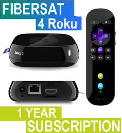 FIBERSAT (1 Year Subscription)