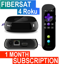 FIBERSAT (1 Month Subscription)