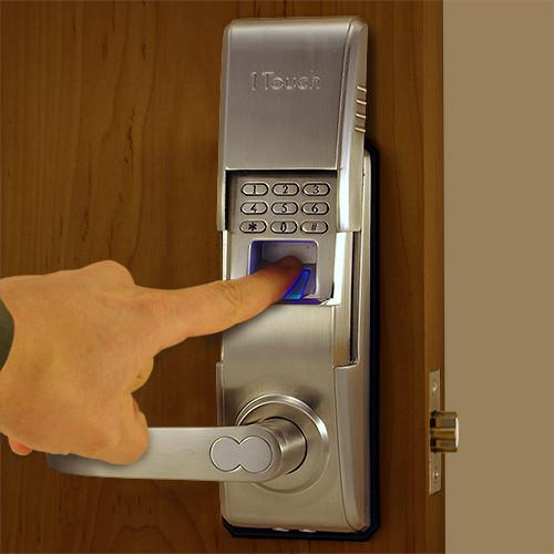 Surprising Reversible Fingerprint Door Lock The 1Touch Evo3 Door Handles Collection Dhjemzonderlifede