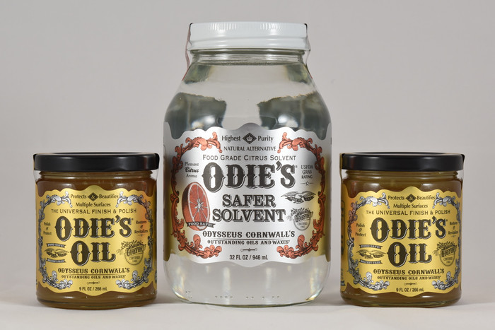 Odie's Oil/Odie's Safer Solvent Combo