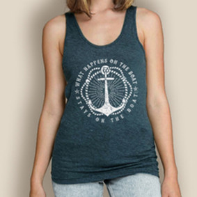 Boating Tank Top - WaterGirl What Happens