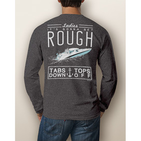 Men's Boating Long-Sleeve - NautiGuy Tabs Down