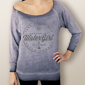 Women's Sweatshirt - WaterGirl Wanderlust