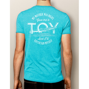 Men's Boating T-Shirt- NautiGuy Toy