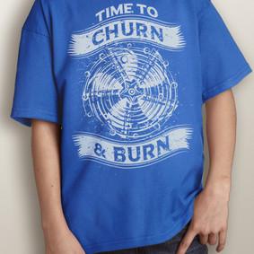 Youth Short-Sleeve- Churn & Burn