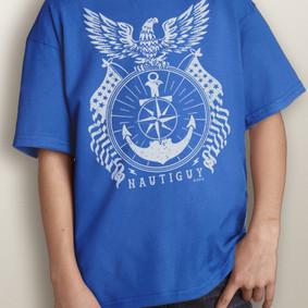 Youth Short-Sleeve- Nautical Eagle