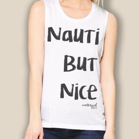 Boating Tank Top- WaterGirl Nauti But Nice Tank