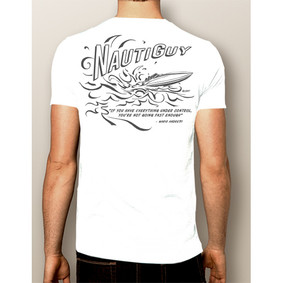 Men's Boating T-Shirt- NautiGuy Not Fast Enough (More Colors)