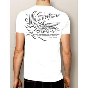 Men's Boating T-Shirt- NautiGuy Not Fast Enough (More Colors)