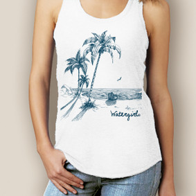 WaterGirl Escape Signature Racerback